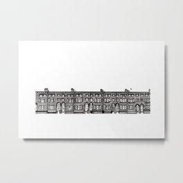 Brick of London Metal Print