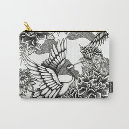 Cranes (B&W) Carry-All Pouch