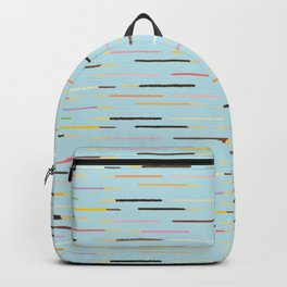 21 Flavors of Pocky - blue Backpack