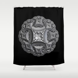 Shades of Gray Shower Curtain