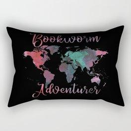 Bookworm Adventurer Rectangular Pillow