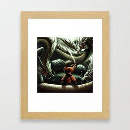 madara Framed Art Print