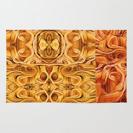 Abstract Chinese Noodle Rug