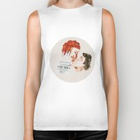 eternal sunshine Biker Tanks featuring Eternal Sunshine of the Spotless Mind by rebeccalbe