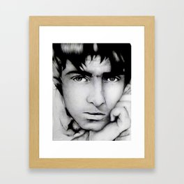 Liam Gallagher | Oasis / Beady Eye Framed Art Print