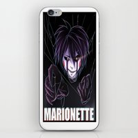 fnaf iPhone & iPod Skins featuring Marionette pic 2 by Nazaki Cain