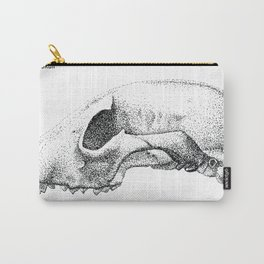 Raccoon Skull Study Carry-All Pouch
