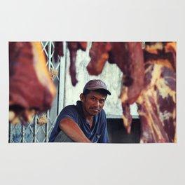 Meat vignette  Rug