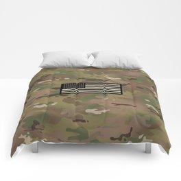 U.S. Flag: Woodland Camouflage Comforters