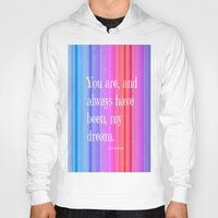 notebook Hoodies featuring Nicholas Sparks Notebook quote by Laura Santeler