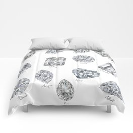 Diamonds pattern Comforters