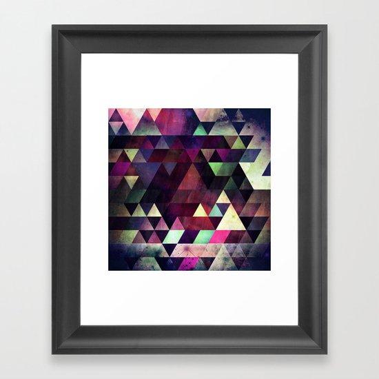 blykk^kyp Framed Art Print