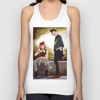 dana scully Tank Tops featuring Hey Scully... by Jena Young