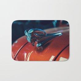 Red Motor Car Bath Mat