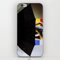 polka dots iPhone & iPod Skins featuring Polka Dots by Hil Wittenhagen