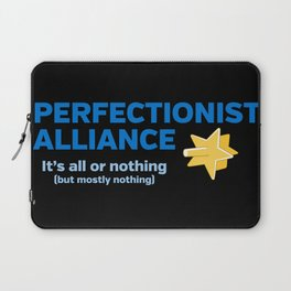 Perfectionist Alliance Laptop Sleeve