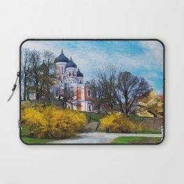 Tallinn art 4 #tallinn #city Laptop Sleeve