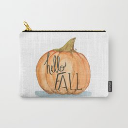 Hello fall pumpkin Carry-All Pouch