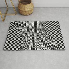 black white 09 Rug