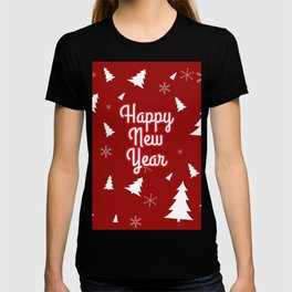 New Year, Christmas, winter holidays illustration New Year, Christmas, winter holidays illustration T-shirt