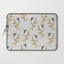 Hummingbird & Flower II Laptop Sleeve