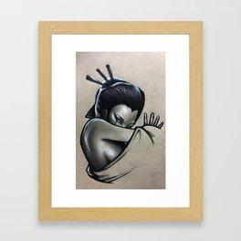 Never To Be Unseen Framed Art Print