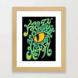 Krazy Kitty Framed Art Print