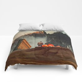 My Worlds Fall Apart Comforters