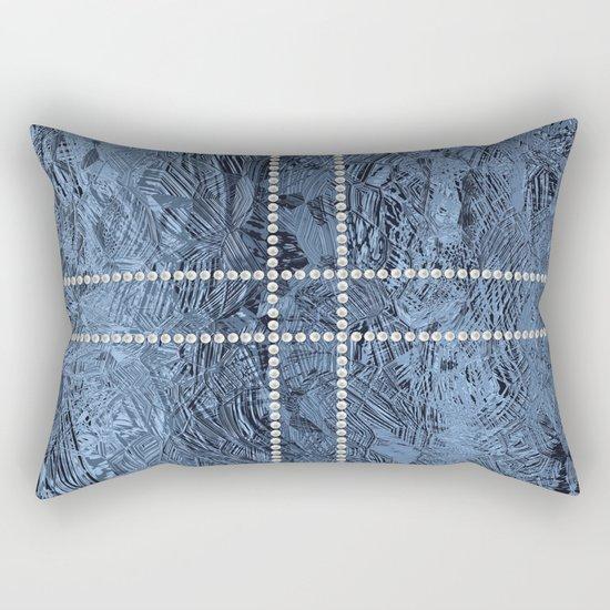 Ocean Blue Pearls Rectangular Pillow