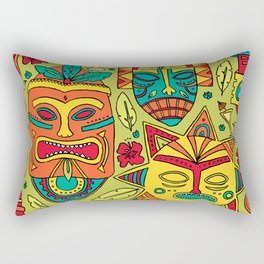 Tiki tiki Rectangular Pillow