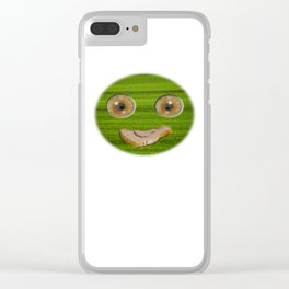 I Love Wheat Clear iPhone Case