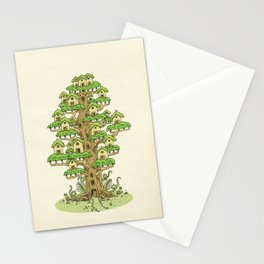 Tree House Stationery Cards