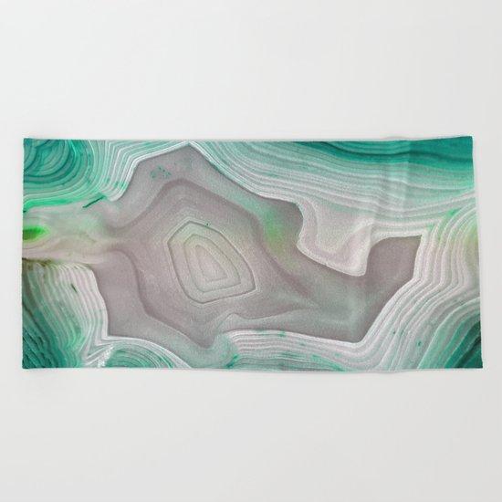 MINTY MINERAL Beach Towel