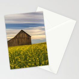 Dazzling Canola in Bloom Stationery Cards