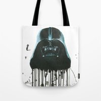 darth vader Tote Bags featuring Darth Vader by McCoy