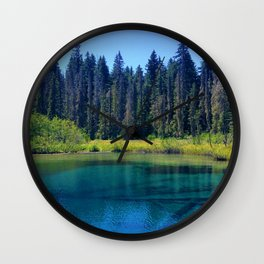 Crystal Clear Wall Clock
