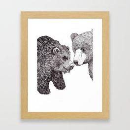 Mom & Dad Framed Art Print