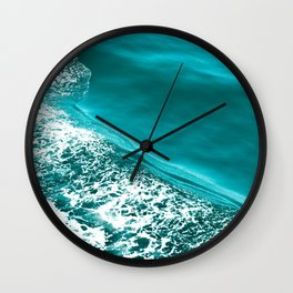 Seattle Seafoam Wall Clock
