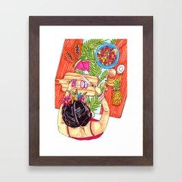 Fruit salad - Frida collection - Framed Art Print