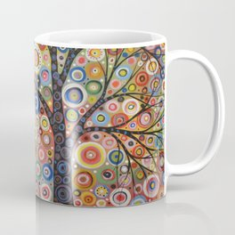 Abstract Art Landscape Original Painting .. Endless Sky Coffee Mug