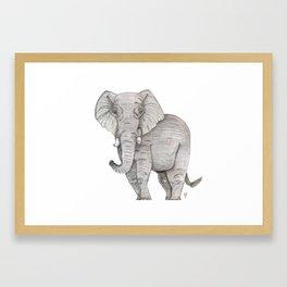 Eli the Elephant Framed Art Print