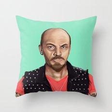 Hipstory -  Lenin Throw Pillow