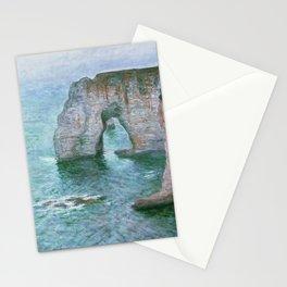 Claude Monet, French, 1840-1926 Manne-Porte, Etretat Stationery Cards