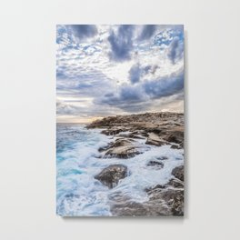 Crashing Waves At Prospect, Nova Scotia #3 Metal Print