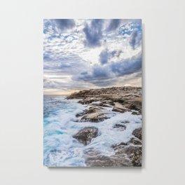 Crashing Waves At Prospect, Nova Scotia #3 Metal Print