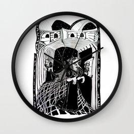 Doppelgänger Wall Clock