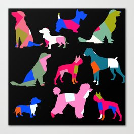 Doggy Tails Canvas Print