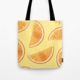 Orange Slice Delight Tote Bag