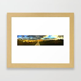 The birthplace of the Ashes Framed Art Print