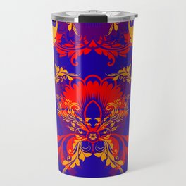 floral ornaments pattern nbry Travel Mug